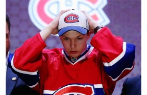 Habs Nikita Scherbak at 2014 NHL Entry Draft