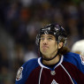 Habs PA Parenteau in an Avalanche jersey