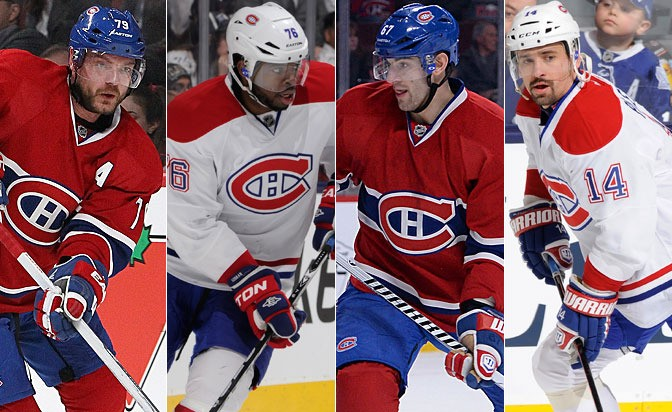 Habs' alternate captains