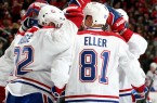 Habs' team celly