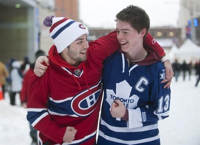 Habs and Leafs fans