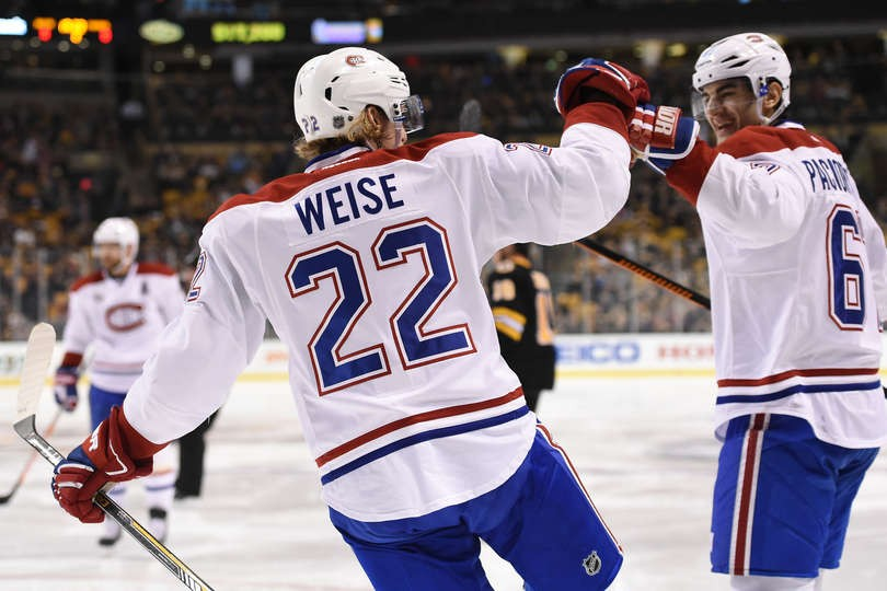 Habs' Dale Weise