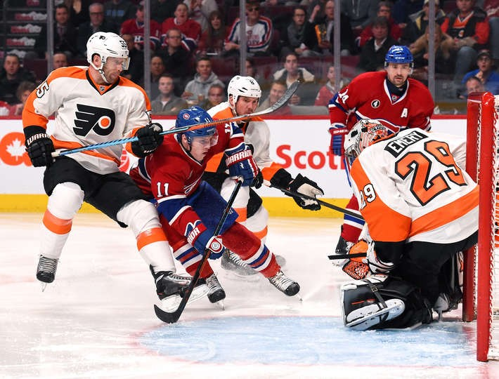 Habs vs Flyers