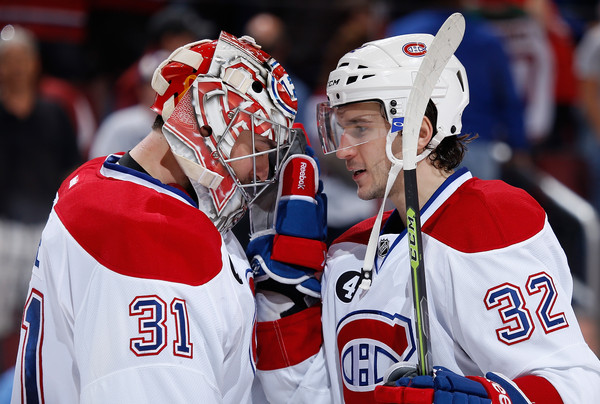 Carey Price and Brian Flynn